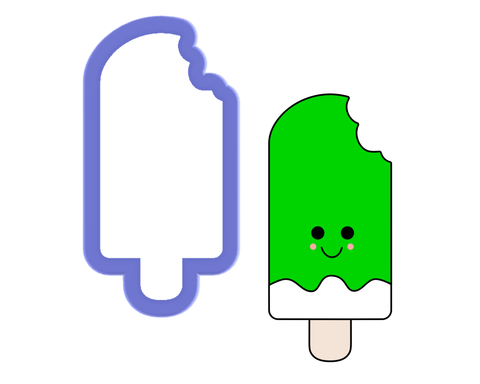 Popsicle with Bite Cookie Cutter
