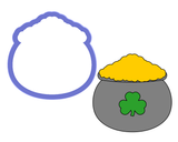 Pot of Gold - Cauldron Cookie Cutter