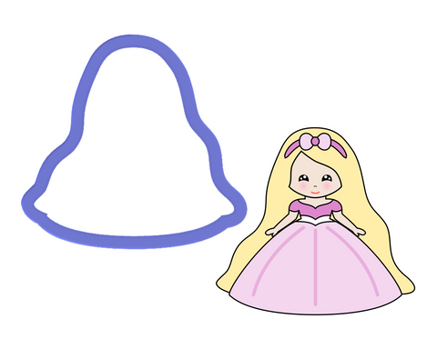 Rapunzel Cookie Cutter