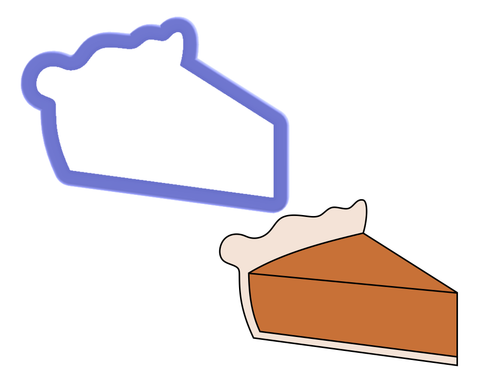 Slice of Pie Cookie Cutter