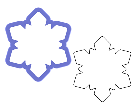 Snowflake #1 Cookie Cutter