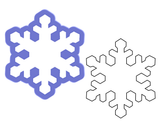 Snowflake #2 Cookie Cutter