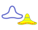 Sombrero #1 Cookie Cutter