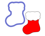 Stocking - Baby Sock Cookie Cutter