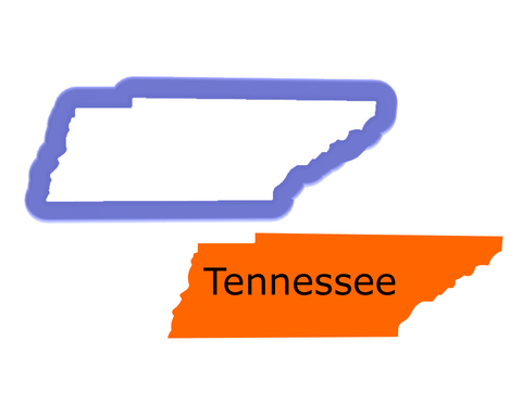 Tennessee State Cookie Cutter