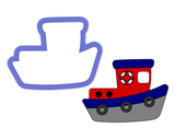Tug Boat #1 Cookie Cutter