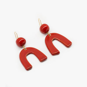 Trinidad Red Earrings