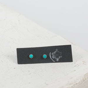 Turquoise Studs - individual-medley