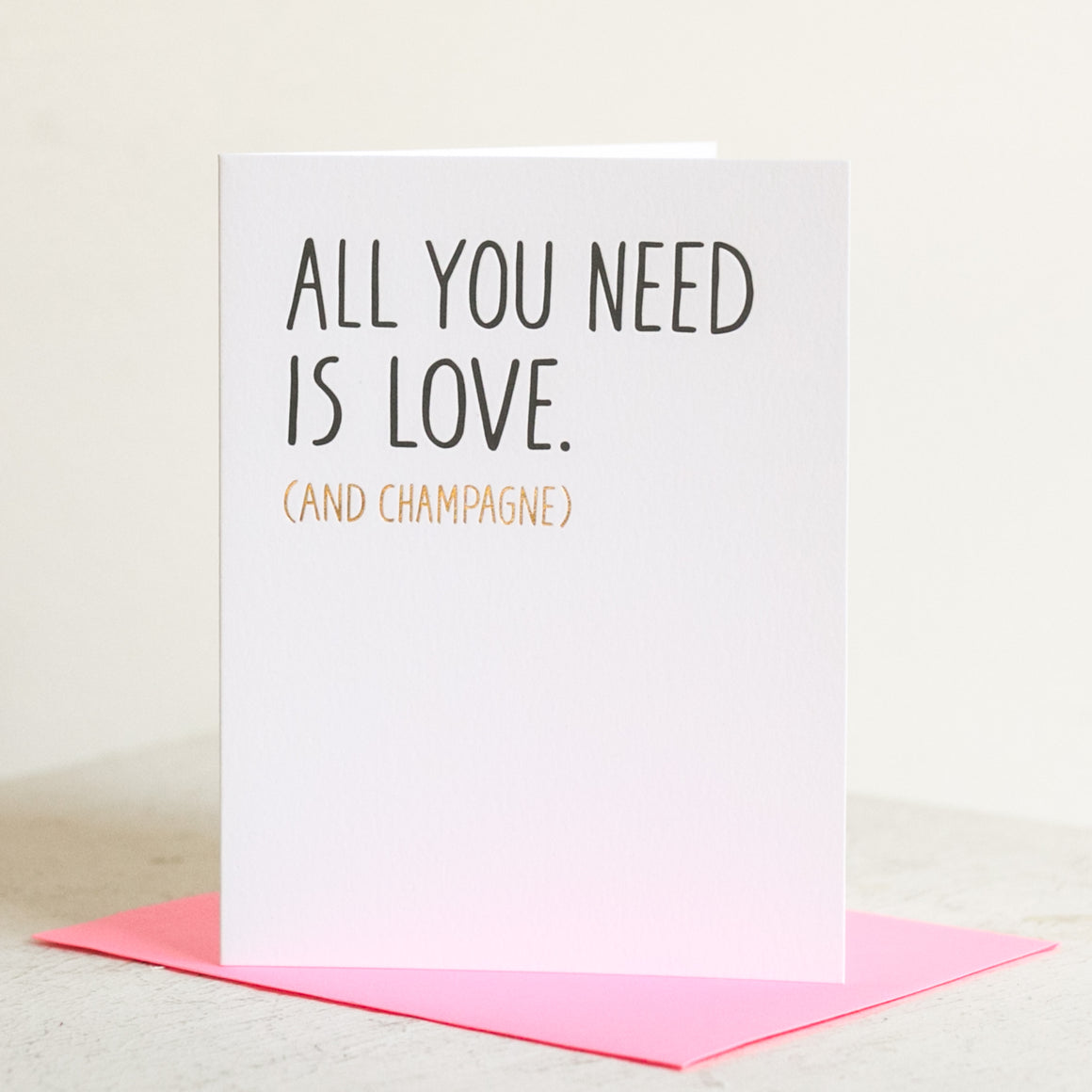 All You Need Card
