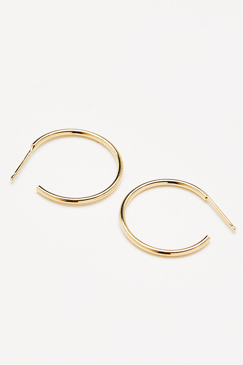 Leen Hoops - Gold Small