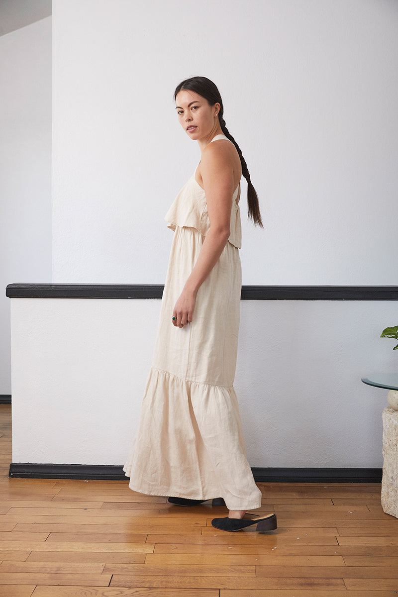 Arya-May Linen Dress