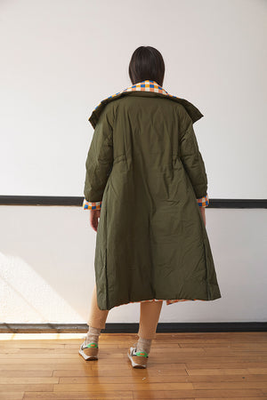 Reversible Parka Coat