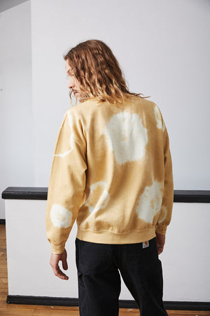 Tie Dye Crewneck Sweater - Sunbeam