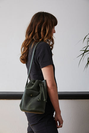 Mini Totem Bucket Bag