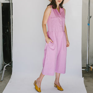 Violet Jumpsuit in Grape