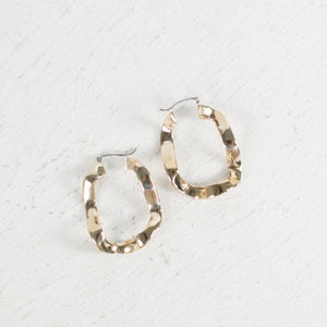 Front Wave Earrings