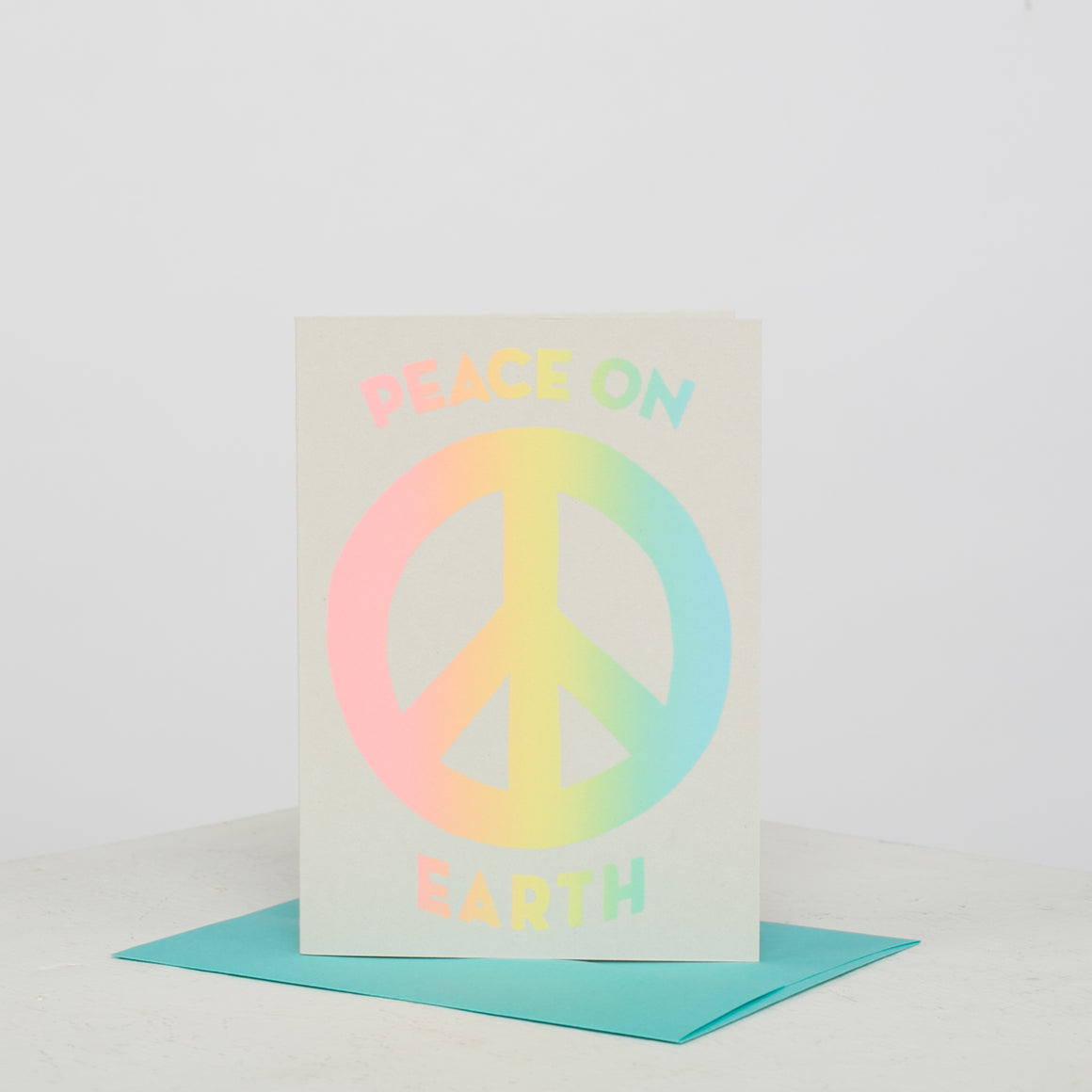 Gradiant Peace Card - individual-medley