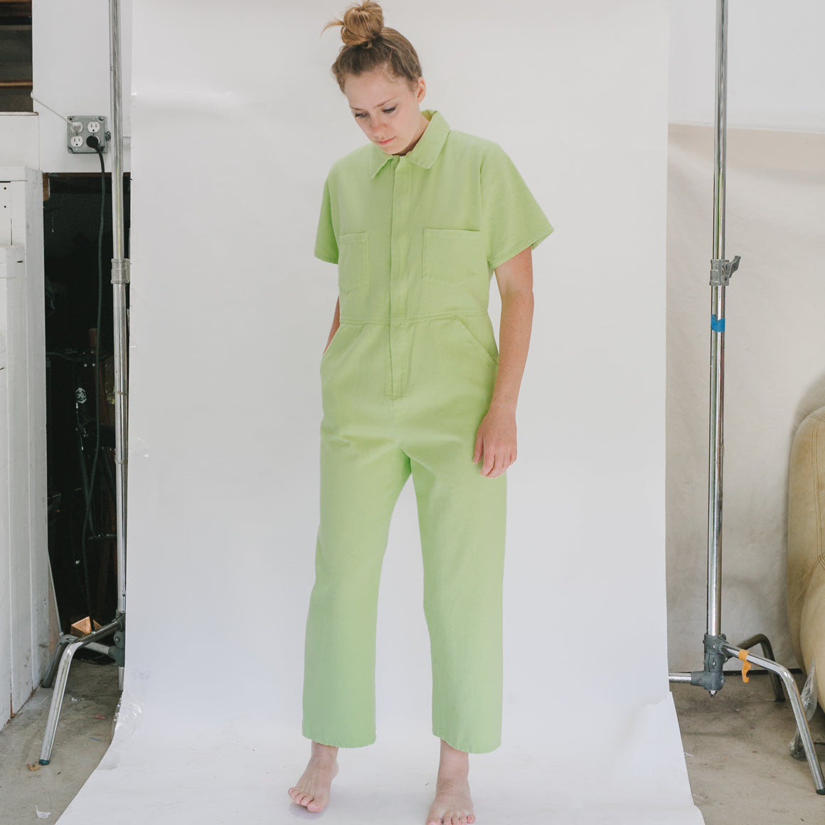 Freya Coverall in Apple - individual-medley