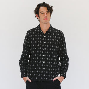 Garage Shirt in Black - individual-medl