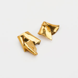 Pli Gold Earrings