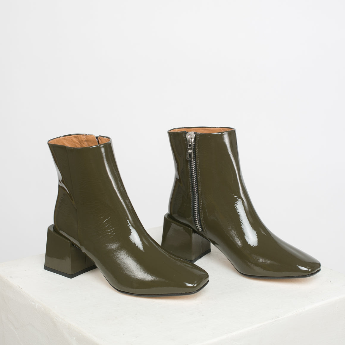 Lazaro Boot in Bosque Patent
