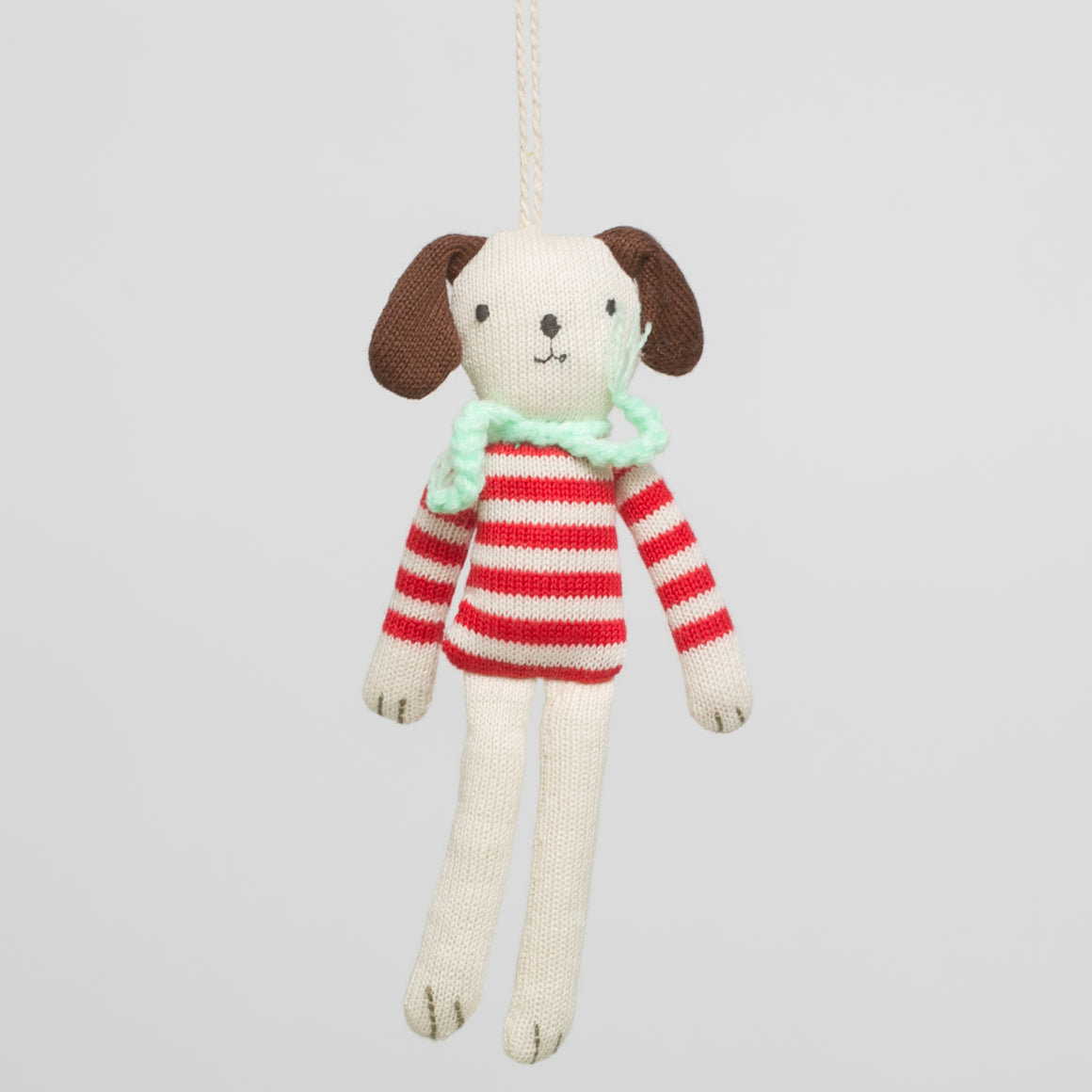 Stripy Dog Ornament