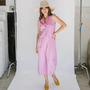 Violet Jumpsuit in Grape - individual-medley