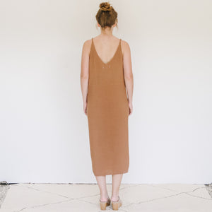 Hawaii Dress in Camel - individual-medley
