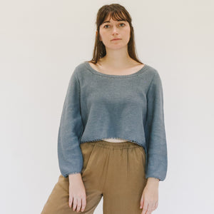 Crop Sweater - individual-medley
