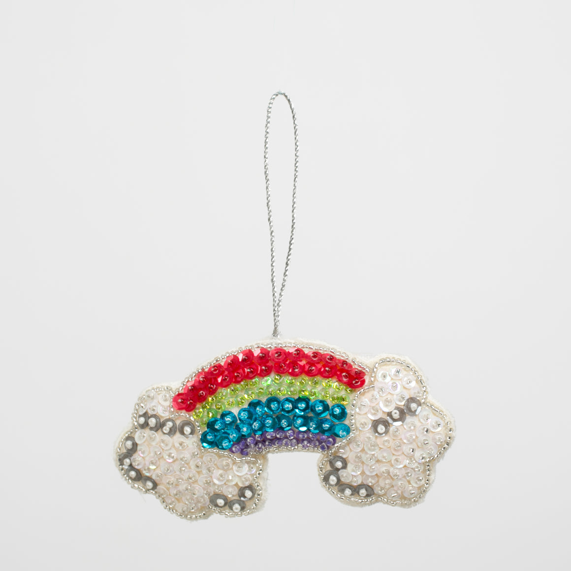 Sparkling Rainbow Ornament - individual-medley