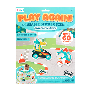 Play Again! Reusable Sticker Scenes - individual-medley