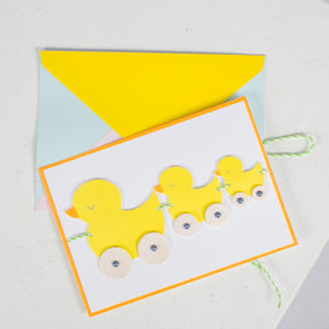 Duck Pullalong Card