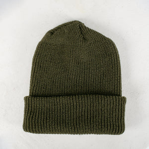 Vintage Beanie in Rover Green