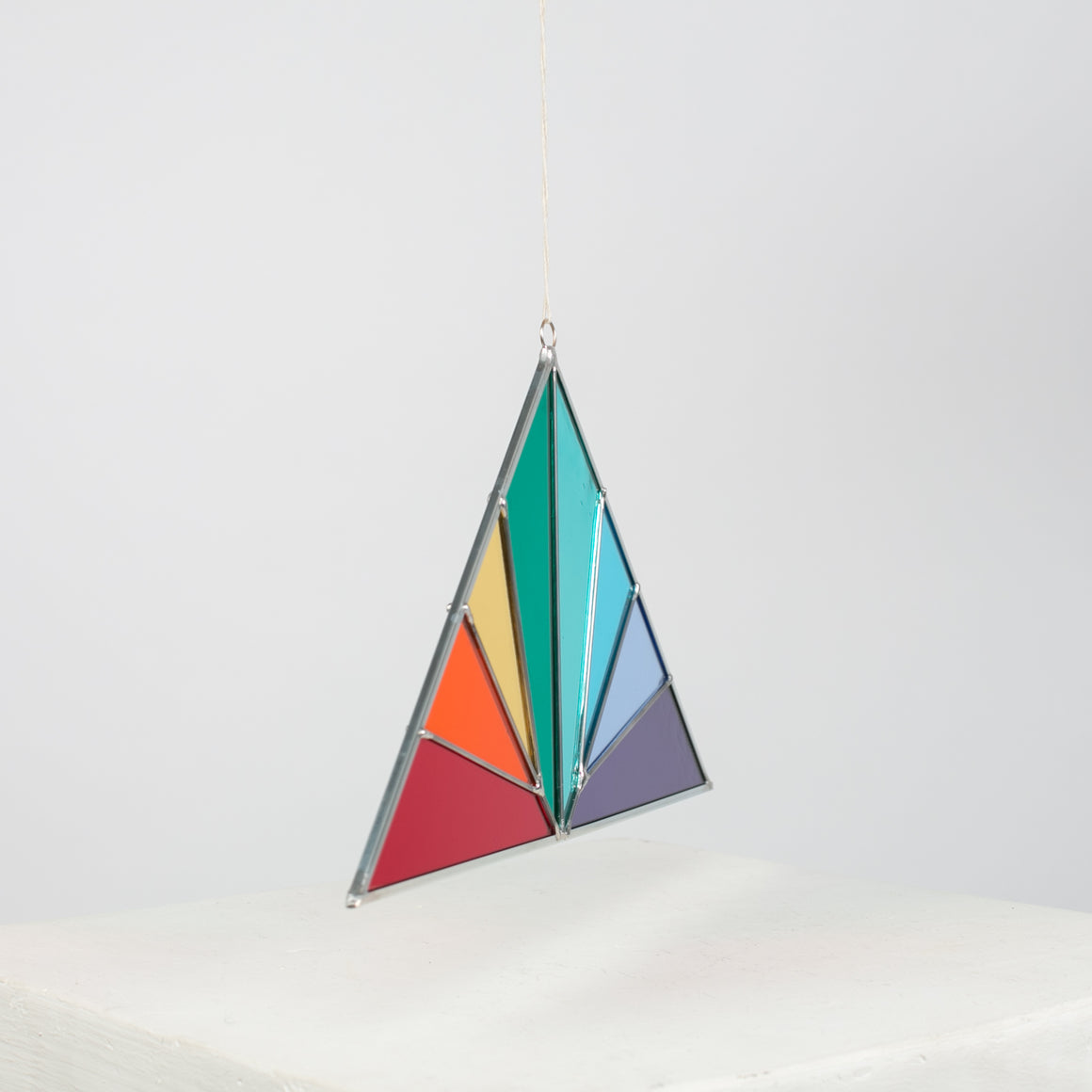 Large Triangle Rainbow Panel - individual-medley