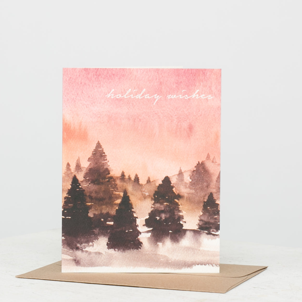 Holiday Wishes Forest Card
