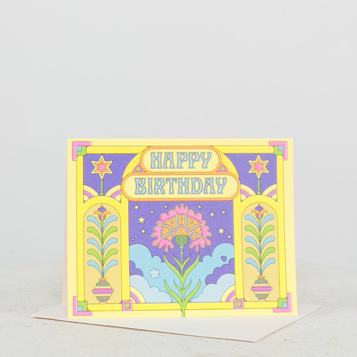Happy Colors Birthday Card - individual-medley