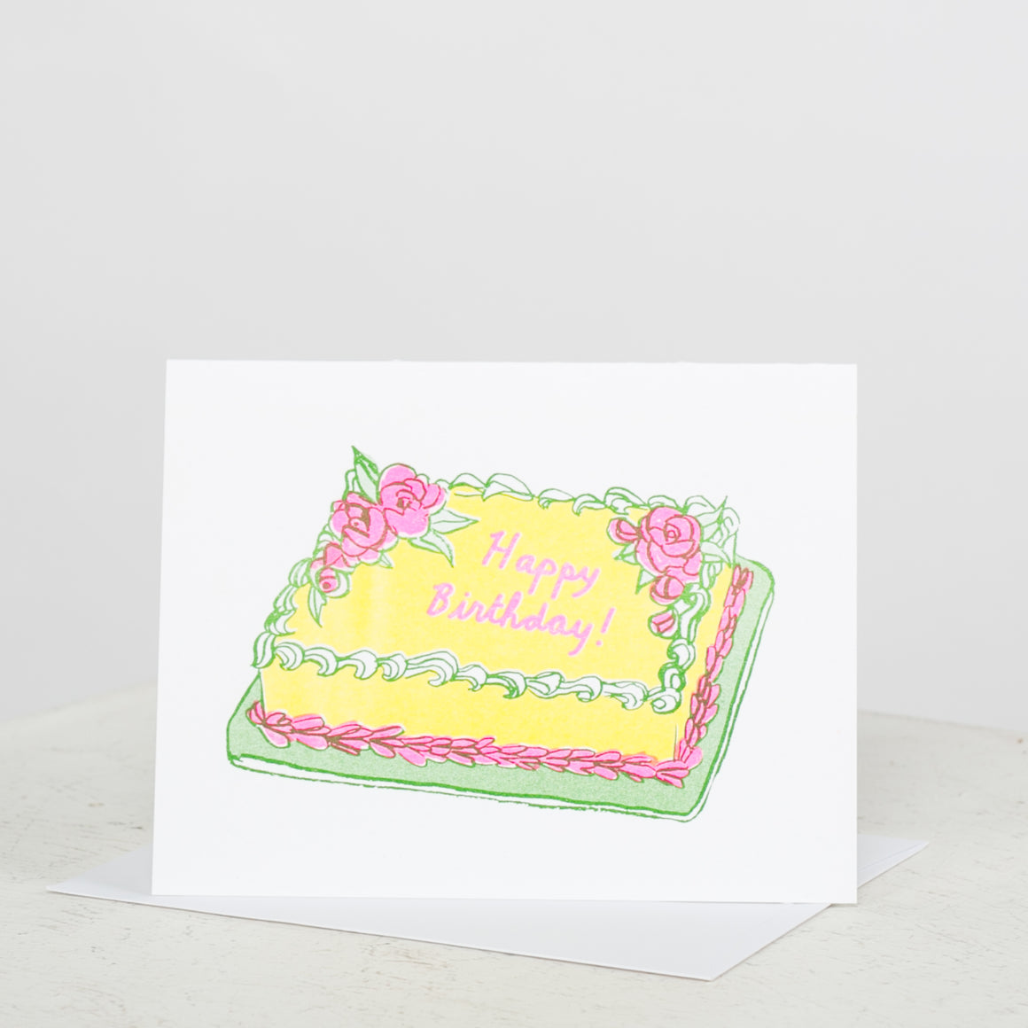Happy Birthday Cake Card - individual-medley