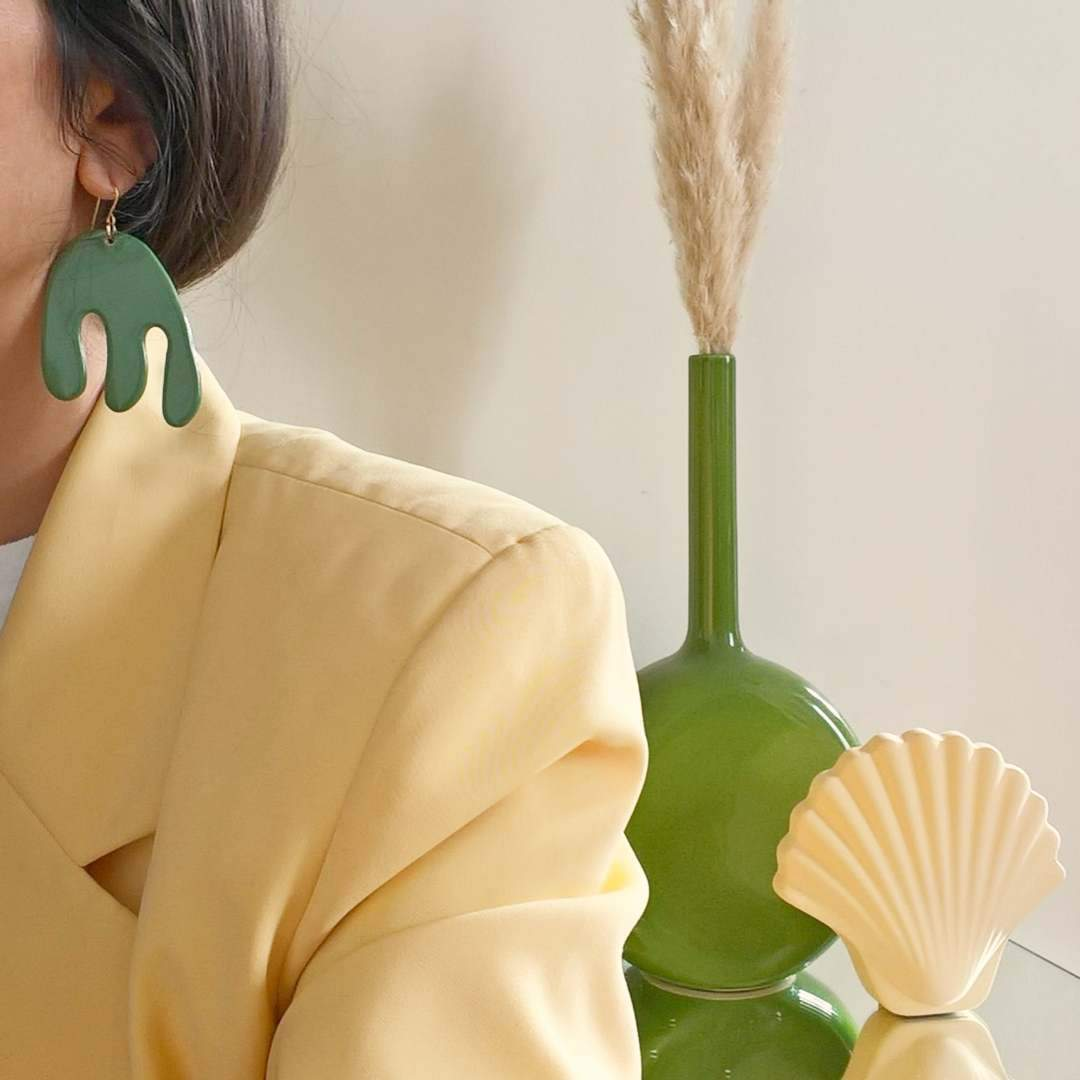 Bayamo Green Earrings - individual-medley