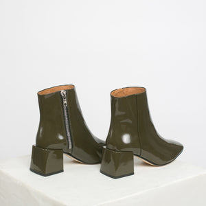 Lazaro Boot in Bosque Patent - individual-medley
