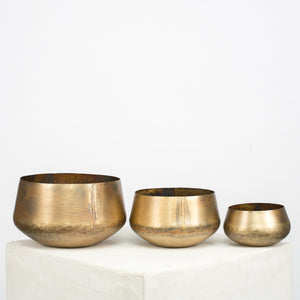 Mini Brass Planter