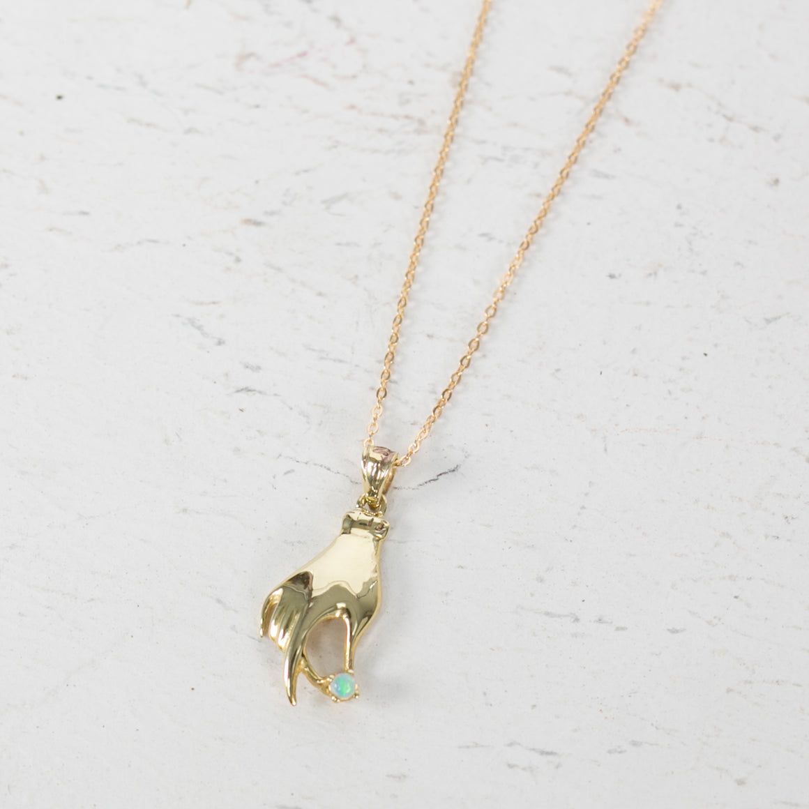 Hand Necklace - individual-medley