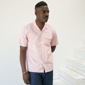 S/S Clover Shirt in Sandy Rose