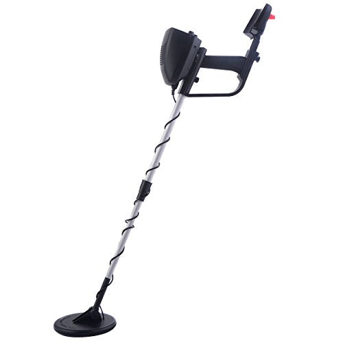 Goplus MD-4030 Underground Metal Detector Waterproof Deep Sensitive Search Gold Digger Hunter 6.5