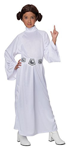 Star Wars Child's Deluxe Princess Leia Costume, Medium