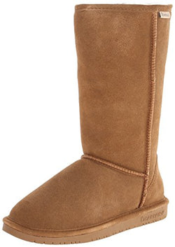 BEARPAW Women's Emma Tall Fashion Boot, Hickory, 5 Medium US