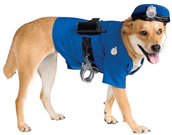 Rubie's Police Dog Pet Costume, X-Large