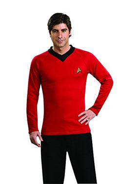 Star Trek Classic Deluxe Red Shirt, Adult XL Costume