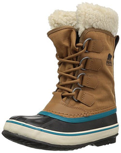 SOREL Women's Winter Carnival Snow Boot, Camel Brown, 6.5 M US