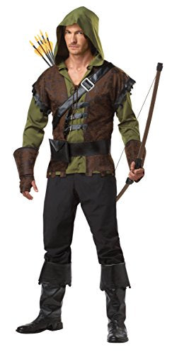 California Costumes Robin Hood Adult Costume, Olive/Brown, Large