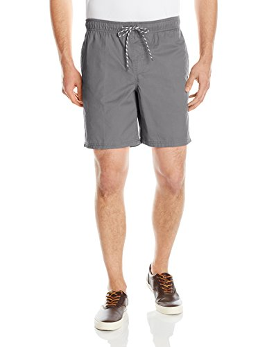 Amazon Essentials Men's Drawstring Walk Short, Grey, Small